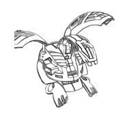 Bakugan Battle Brawlers da colorare 51