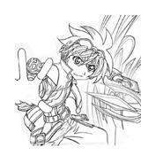 Bakugan Battle Brawlers da colorare 57