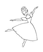 Danza da colorare 2