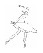 Danza da colorare 8