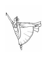 Danza da colorare 11