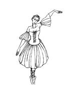 Danza da colorare 23