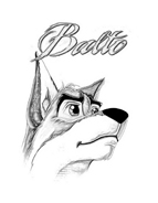 Balto da colorare 5
