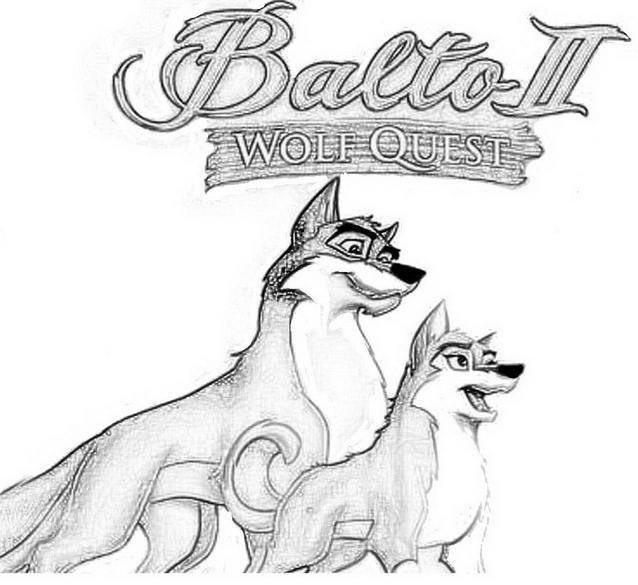 Balto da colorare 10