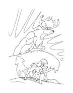 Bambi da colorare 6