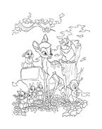 Bambi da colorare 25