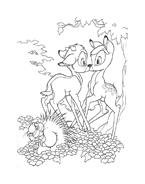 Bambi da colorare 26