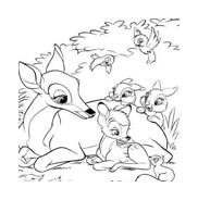 Bambi da colorare 37