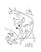 Bambi da colorare 45