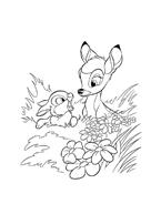 Bambi da colorare 48