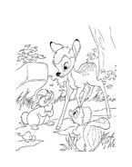 Bambi da colorare 53