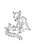 Bambi da colorare 63