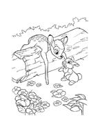 Bambi da colorare 69