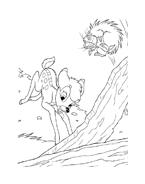 Bambi da colorare 77