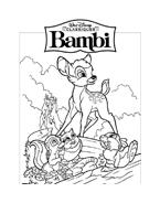 Bambi da colorare 80