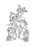 Bambi da colorare 149