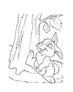 Bambi da colorare 151