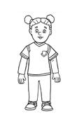 Bambino da colorare 4
