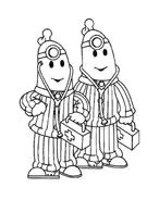 Bananas pyjamas da colorare 6