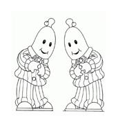 Bananas pyjamas da colorare 13