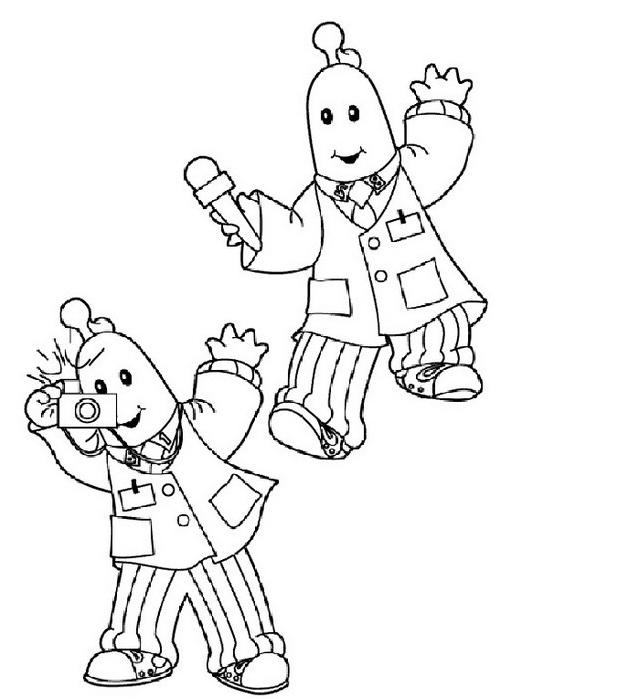 Bananas pyjamas da colorare 14