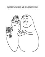 Barbapapà da colorare 28