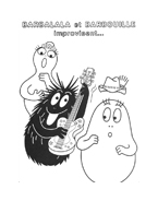 Barbapapà da colorare 31