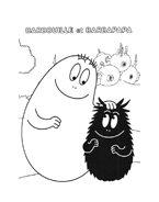 Barbapapà da colorare 34