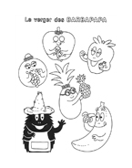 Barbapapà da colorare 42