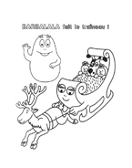 Barbapapà da colorare 47