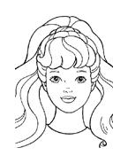 Barbie da colorare 3