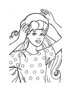 Barbie da colorare 6