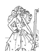 Barbie da colorare 13