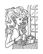 Barbie da colorare 24