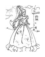 Barbie da colorare 35
