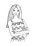 Barbie da colorare 40