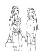 Barbie da colorare 57