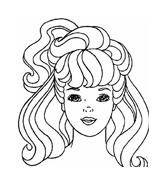Barbie da colorare 97