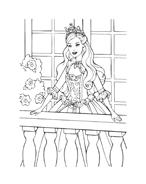 Barbie da colorare 117
