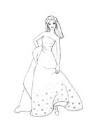 Barbie da colorare 139