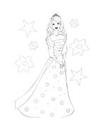 Barbie da colorare 153