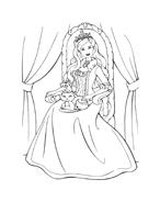 Barbie da colorare 165