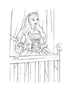 Barbie da colorare 166