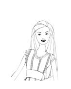 Barbie da colorare 197