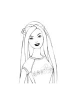 Barbie da colorare 209