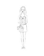 Barbie da colorare 211