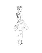 Barbie da colorare 259