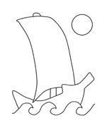 Nave e barca da colorare 4