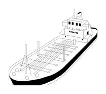 Nave e barca da colorare 9