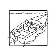 Nave e barca da colorare 14